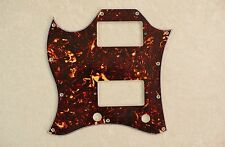 Brown Tortoise Full Face Size Left Handed 4 Ply Pickguard For Gibson Sg Standard
