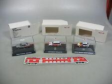 Ai600-0, 5# 3x Herpa h0 turismos: Opel Holland + VW rijkspolitie + bmw Kayser, Neuw + embalaje original