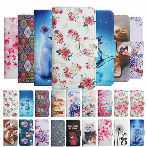 Flip Pattern Leather Wallet Case Cover For iPhone 11 12 Pro Max XS XR 6 7 8 Plus