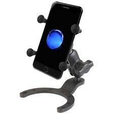 RAM Motorcycle Gas Tank Large Base Mount w/ X-Grip Holder- fits iPhone 6 / 6S