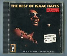 The best of CD Isaac Hayes vol. 2 © 1986 West German early PRESS STAX fcd-60-002