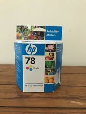 HP 78 Tri-Color Ink Cartridge C6578DN New Genuine Factory Sealed Box Exp Apr 09