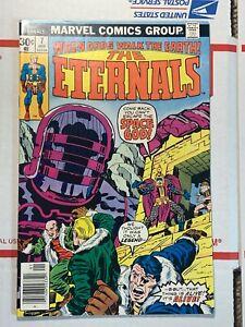 Eternals #7 (Marvel Comics 1977) Many Celestial 1st apps Jack Kirby story, art