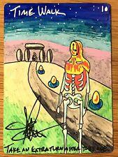 MTG Time Walk ALTERed Amy WEBER Magic the Gathering Sketch Art