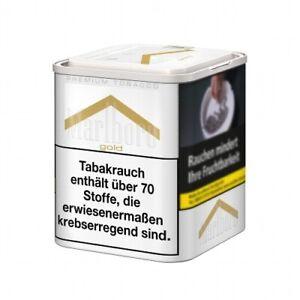 6 x Marlboro Zigarettentabak Gold Premium à 85 Gramm