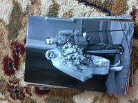 M17b8 6x4 Inches reprint Photograph ww1 Wedding Couple Bride a018 wounded