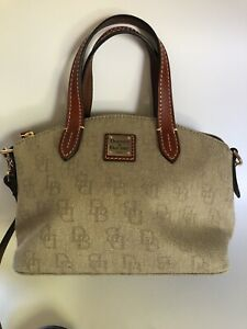 Dooney & Bourke Anniversary Signature Ruby Top Handle Handbag Sample Bag Small
