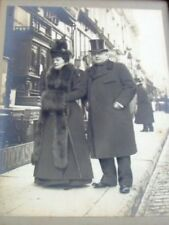 Ancien ; photo originale couple, Meubles d'occasion.