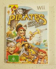 Pirates: Hunt For Blackbeard's Booty (Nintendo Wii, G) Wii U Compatible!