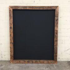 Rustic Chunky Chalkboard, New Menu Blackboard, Unique and Handmade Wall Sign