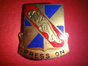 US Army Unit Crest 159th AVIATION With Motto PRESS ON Distinctive unit Insignia