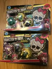 MONSTER HIGH MINIS SERIES 1 EXCLUSIVE FIGURE WITH COLLECTORS GUIDE