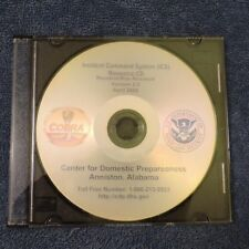 Incident Command Systems Resource CD's