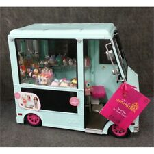 Our Generation Bd37252 Sweet Stop Ice Cream Truck - Light Blue, Age 3+ Open Box*