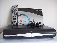 SKY + HD AMSTRAD DRX890 RECEIVER & RECORDING BOX , REMOTE CONTROL & POWER CABLE