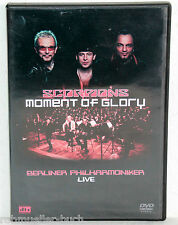 DVD SCORPIONS - Moment Of Glory - Berliner Philharmoniker LIVE