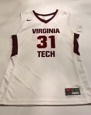 Nike Virginia Tech Hokies Team Issued #31 Basketball Jersey Size L
