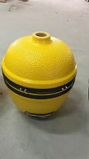 YNNI 14 inch Bespoke Yellow Kamado Oven BBQ Grill Egg with Stand YQ0014YL