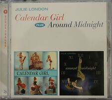 "JULIE LONDON ""CALENDAR GIRL + AROUND MIDNIGHT""  CD"
