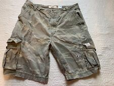 "Levis Camouflage Cargo Shorts All Cotton 11"" Inseam Men Size 38"