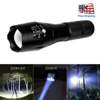 20000Lm Tactical LED flashlight 18650 T6 Zoomable Aluminum Lanterna LED Torch US