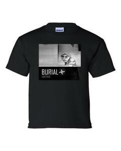 BURIAL MENS T SHIRT UNTRUE EDM FUTURE GARAGE SIZES S M L XL XXL