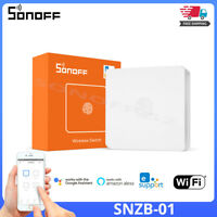 SONOFF NEW SNZB-01 Zigbee Wireless Switch Smart Home Remotely Control MINI Touch