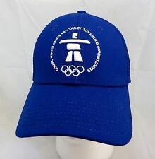 Vancouver Olympics Whistler  hat cap adjustable flex fit note defect