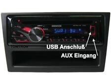 Kenwood Opel Astra H Radio Blende ab Bj 2004 CD MP3 USB Lenkradfernbedienung