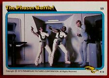 STAR TREK - MOVIE - Card #59 - THE PHASER BATTLE - TOPPS 1979