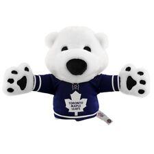 "NHL 8"" Plush Mascot Puppet Carlton Toronto Maple Leafs, Bleacher Creatures"