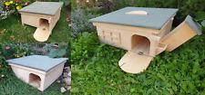 Predator Proof Hedgehog Hibernation Wildlife Shelter Habitat Nest Box House