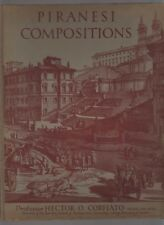 piranesi compositions  professor hetcor o corfiato  university of london  1951