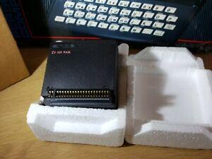 Sinclair ZX 81 Random Access Memory 16K RAM pack in original SINCLAIR packaging