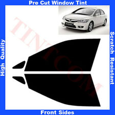 Pre Cut Window Tint Honda Civic 4 Doors Saloon 2007-2012 Front Sides Any Shade