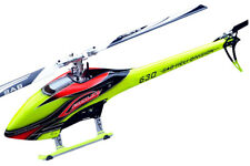 NEW SAB Goblin 630 Competition Heli Kit OR/YL w/Main & Tail Blades FREE US SHIP