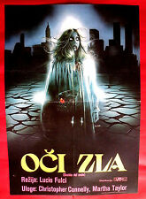 MANHATTAN BABY 1982 HORROR CHRISTOPHER CONNELLY LUCIO FULCI EXYU MOVIE POSTER