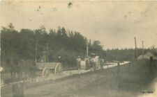c1910 Road Construction Steam Engine Roller Occupation Workers Rppc Real Photo