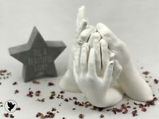 Best on eBay, Family Hand Casting Kit Alginate Plaster Kits Hand Mould