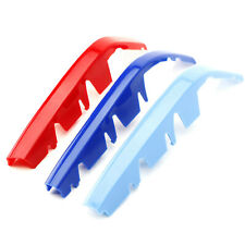 ///M-Colored Grille Insert Trims For 19+ BMW G20 3 Series M340i w/ 8-Beam Grille