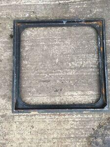 Wrekin Cast Iron Man Hole Cover Frame for 450mm x 450mm manhole.