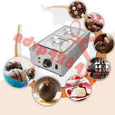 2-Tanks Chocolate Melter Melting Machine Electric Water Heating 220V