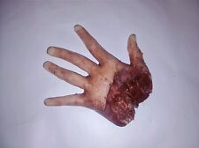 Silicone HORROR PROP severed female hand movie quality gore blood zombie dead