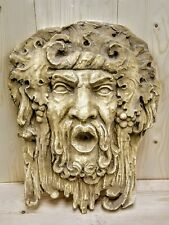 Bacchus-Dionysus Large Wall Home Garden Decor Plaque Wine Decor