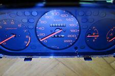 HONDA CIVIC 96-00 orange CLUSTER RS EK9 EK4 VTI Type R JDM SiR 0 KMH 9k RPM oem