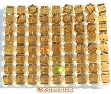 2 Perles Cube 6mm cristal Swarovski 5601 - LIGHT COLORADO TOPAZ