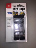 4x Multipurpose Tarp Clips