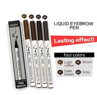 Women Makeup Sketch Liquid Eyebrow Pencil Waterproof Brown Eye Brow Tattoo Dye