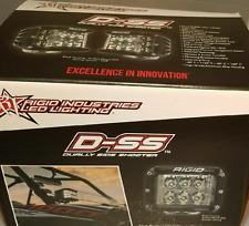 Rigid Industries D-SS Side Shooter LED Spot Light Pair 26221