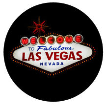Las Vegas - rotondo GADGET SOUVENIR CALAMITA FRIGO - NUOVO - REGALO